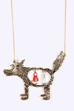 N2 Wolf Necklace