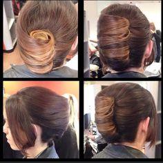 Hairstyles With Bangs, Easy Hairstyles, Girl Hairstyles, Haircuts, Wavy Hair, Dyed Hair, Rolled Hair, Middle School Hairstyles, Sophisticated Hairstyles