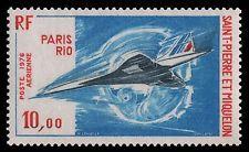 St pierre et miquelon-mi-Nº 514 ** - Avion/Airplane-Concorde