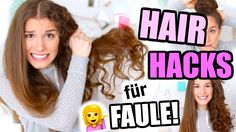 HAIR HACKS für faule Leute mit nervigen Haaren! ♡ BarbieLovesLipsticks