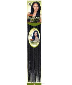 "SENEGAL Faux & Locs Dread · Crochet Interlocking Hair· 100% Premium Fiber· SINGLE Pack Ordering· 20"" in Length· Pre-made Loop· 14 Pre-Twist Locs Per Pack· 1"