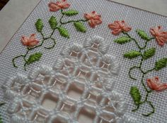 poppies embroidery in ribbon work designs - Google Search