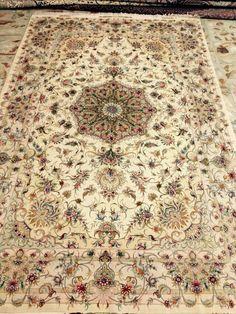 Persian carpet. Tabriz khatibi design Persian Carpet, Persian Rug, Rug World, Uk Homes, Carpet Design, Premium Wordpress Themes, Carpet Runner, Rugs On Carpet, Bohemian Rug