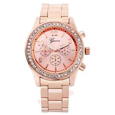 >> Click to Buy << New Luxury Brand Designer Casual Watch Women Rhinestone Watches Dress Rose Gold Quartz Female Clock Montre Femme Relogio Reloj #Affiliate