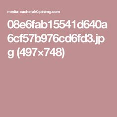 08e6fab15541d640a6cf57b976cd6fd3.jpg (497×748)