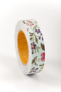 Washi and fabric tape.  Great for scrapbooking.
