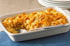 Home-Baked Macaroni & Cheese recipe using boxed mix