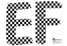 Alfabeto tablero de ajedrez. | Oh my Alfabetos!