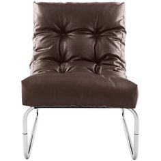 Lindau Brown Faux Leather Lounge Armchair - available to buy online or at Choice Furniture Superstore UK on stockist sale price. Get volume - discount with fast and Free Delivery. Boudoir, Banquettes, Design Lounge, Retro Lounge, Kokoon Design, Leather Lounge, Structure Metal, Furniture Assembly, Interior Styling