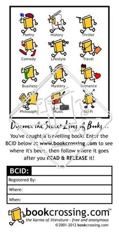 label from the official store Genre Labels, Secret Life, Business Travel, Thriller, Mystery, Comedy, My Love, Reading, Books