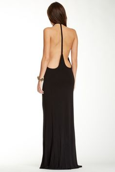 Elegant cut away back dress