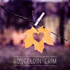 Hoşgeldin Ekim! ♥   #ekim #october #fall #sonbahar #brandstore