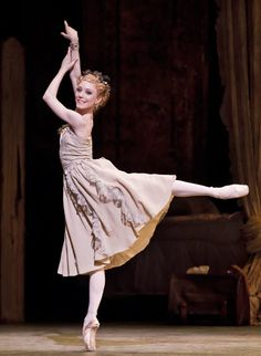 Sarah Lamb in Manon. She is amazing I have seen her perform Juliet in Romeo and Juliet.