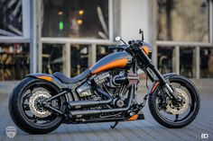 Customized Harley-Davidson Breakout by Thunderbike