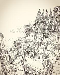 Panorama 1 #illustration