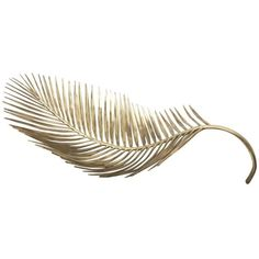 Brass Cast Palm Tree Leaf Bowl ($2,415) ❤ liked on Polyvore featuring home, home decor, decorative bowls, multiple, solid brass bowl, decorative leaf bowl, handmade home decor, brass home decor and brass decorative bowl
