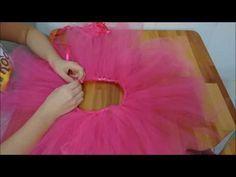 DIY-Faça voçe mesmo sua saia de Tule (TuTu) - Karoll Cardoso - YouTube