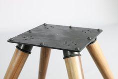 Base soporte de altavoces columna de altavoces en hierro y