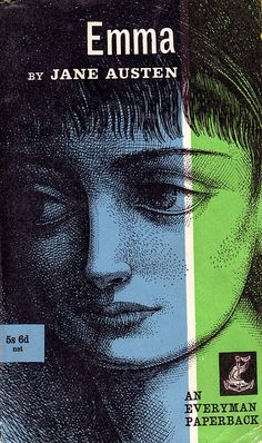 Emma - by Jane Austen.  Cover drawing by Noel Fisher. An Everyman Paperback, 1961. http://www.flickr.com/photos/23023719@N04/2442731814/in/photostream