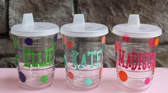 @Ashley Bahlau  Sippy Cups by Tervis Tumbler  - I know you love a Tervis Tumbler, now Navy can have one too!