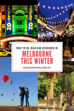 What to do, wear and experience in Melbourne this Winter