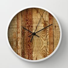 Wood+Photography+Wall+Clock+by+Beth+-+Paper+Angels+Photography+-+$30.00