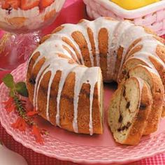 """Streuseled Zucchini Bundt Cake Recipe -After managing to lose 40 pounds, Regina Stock likes to keep a number of healthy recipes on hand. """"This cake is a favorite morning snack,"""" says the Topeka, Kansas baker. """"It even won a blue ribbon at our county fair."""""""