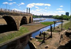 Historic mill ruins in downtown Minneapolis, part of the Mississippi National River and Recreation Area (NPS photo)