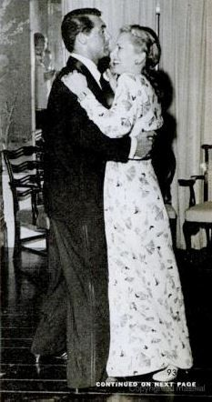 Cary Grant and Anita Colby dance at Elsa Maxwell's Salute to Free France party. Photographed for Life Magazine Oct. 9th 1944