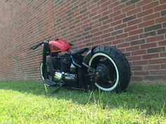 Envied Cycles V Star 1100 Hardtail chopper bobber