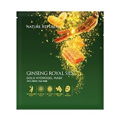 Ginseng Royal Silk Gold Hydrogel Mask 10Pcs >>> Find out more about the great product at the image link. (Note:Amazon affiliate link)