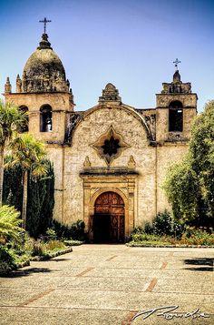 Mission San Carlos Borromeo Basilica ~ Carmel by The Sea, California