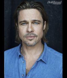 Aging gracefully? Who cares...Its Brad Pitt.