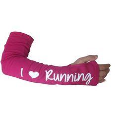 I Love Running Arm Warmers
