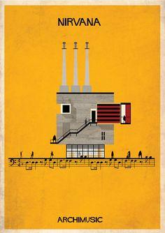 Galeria - ARCHIMUSIC: Ilustrações transformam música em arquitetura - 201