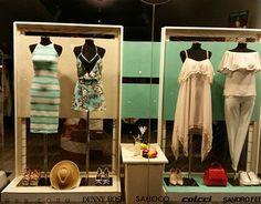 Shop Windows, Window Dressings, New Work, Wardrobe Rack, Ladder Decor, Behance, Store, Gallery, Check