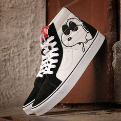 08e0242ef8ee Keep your cool with the Peanuts x Vans Sk8-Hi available now from   sneakavenue