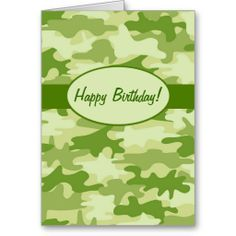 Hunting birthday card camouflage camouflage white envelopes low price guarantee olive green camo camouflage happy birthday custom greeting cards olive bookmarktalkfo Image collections
