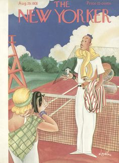 The New Yorker - Saturday, August 29, 1931 - Issue # 341 - Vol. 7 - N° 28 - Cover by : Constantin Alajalov
