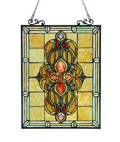 CHLOE Lighting CH3P320VI24-GPN Victorian Window Panel