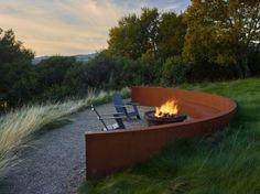 20 Marvelous Contemporary Landscape Designs That Will Make Your Jaw Drop Modern Landscape Design, Landscape Plans, Garden Landscape Design, Modern Landscaping, Contemporary Landscape, Backyard Landscaping, Landscaping Ideas, Contemporary Cottage, Landscaping Software
