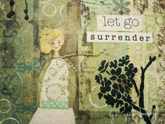 Surrender - Giclee Reproduction From Original mixed media painting, by Ginger Deverell, RedPearCreative, $23.18