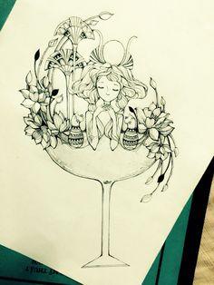 Libra ( draw by me )