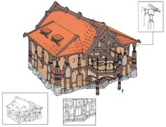 Wood Housing ✤    CHARACTER DESIGN REFERENCES   キャラクターデザイン • Find more at…