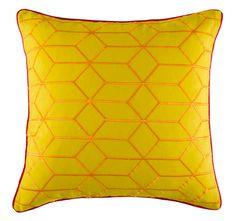 Kas Muze 45x45cm Filled Cushion Multi