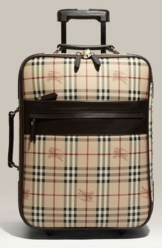 Burberry luggage