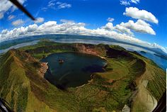 Vulcan Point, The Philippines - Inception Island This is the largest island in a lake (Crater Lake) on an island (Volcano Island, aka Taal Island) in a lake (Lake Taal) on an island (Luzon) in the world. Beautiful Places To Visit, Beautiful Beaches, Places To See, Amazing Places, Amazing Photos, Taal Volcano, Islands In The Pacific, Pacific Ocean, World Travel Guide
