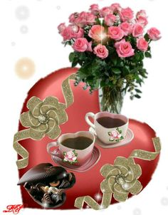 Australian Men, Coffee Love, Photomontage, Good Morning Quotes, Tea Mugs, Happy Mothers Day, Views Album, Decoupage, Valentines