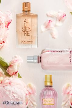 Our delicate and enchanting floral perfumes will whisk you away to the South of France in a whirlwind of exotic fragrances. Our rose, cherry blossom, and peony flowers are cultivated and refined into enchanting scents, perfect for the woman who is both charming and graceful.