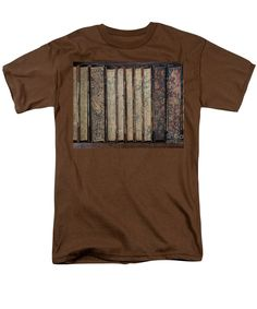 Books Men's T-Shirt (Regular Fit) featuring the photograph Old Books by Sverre Andreas Fekjan
